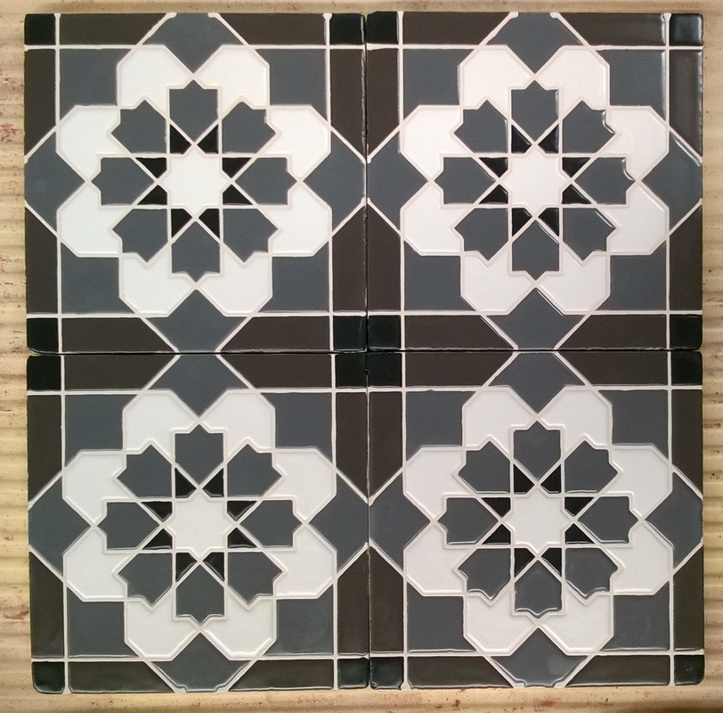 Ceramic Tile Ft Wall Mosaic Hand Made Cement Mosaic And Ceramic